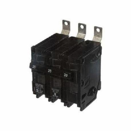 Siemens SpeedFax™ B320HH00S01 Molded Case Circuit Breaker With Insta-Wire, 120/240 VAC, 20 A, 65 kA Interrupt, 3 Poles, Thermal Magnetic/Shunt Trip