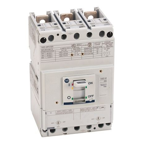 140G - Molded Case Circuit Breaker, J frame, 25 kA, T/M - Thermal Magnetic, Rated Current 250 A