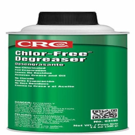 CRC® CHLOR-FREE® 3185 Degreaser, 20 oz Can, Aerosol, Clear, Solvent