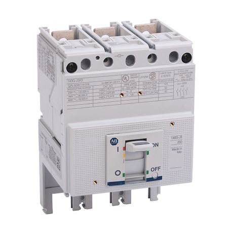 140G - Molded Case Circuit Breaker, J frame, 35 kA, T/M - Thermal Magnetic, Rated Current 250 A
