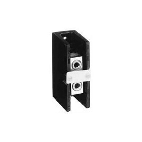 1492 Power Block, Standard Feed-Through/Splicer Block, 1-Pole, Aluminum, 1 Opening Line Side, 1 Opening Load Side, 175 Amps