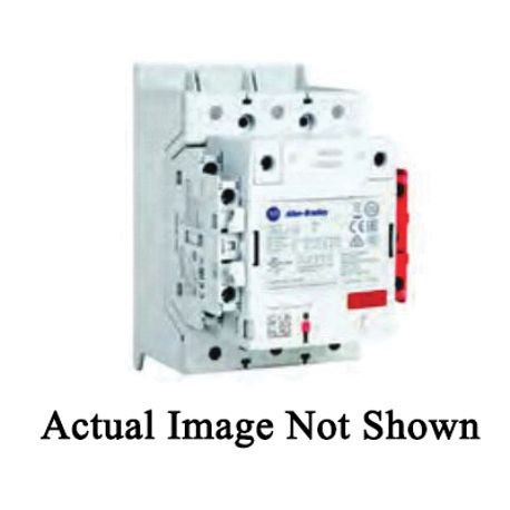 Allen-Bradley 100S-E146ED12CL IEC Safety Contactor With Electronic Coil, 100 to 250 VAC/VDC Coil, 146 A Maximum Load Current, 1NO-1NC Contact Configuration, 3 Pole