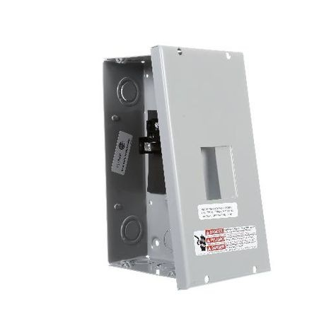 Siemens EQ® E0204ML1060S Indoor Circuit Breaker Enclosure, 8 in L x 5 in W x 4-1/4 in D, NEMA 1, Aluminum