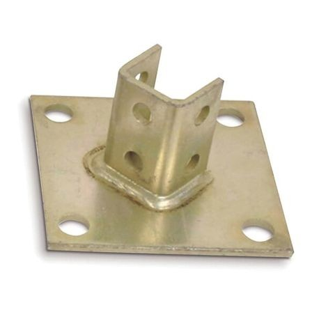 ABB Kindorf® B 924EG Connector Post Base, 6 in Base Height, For Use With: 1-1/2 x 1-1/2 in Channels, Steel