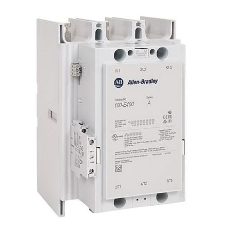 Allen-Bradley 100-E146KJ11 IEC Contactor, 24 to 60 VAC, 20 to 60 VDC Coil, 146 A Maximum Load Current, 1NO-1NC Contact Configuration, 3 Pole