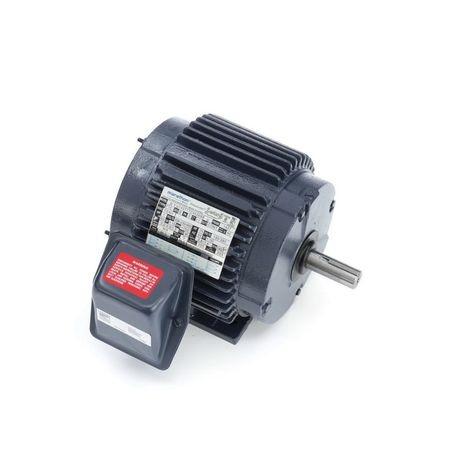 Marathon® 143TTTC4026 4-Pole Continuous Duty AC Motor, 1 hp, 230/460 VAC,  60 Hz, 3 ph, 143T, 1750 rpm, Rigid Base Mount, TENV Enclosure