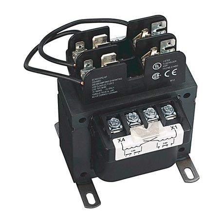 1497B - CCT, 150VA, 240x480V 60Hz Primary-120/240V Secondary, 0 Primary - 0 Secondary Fuse Blocks