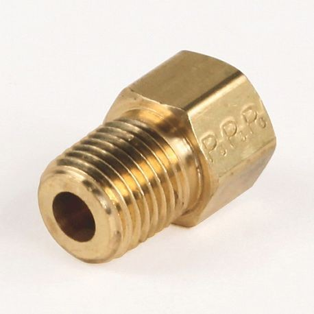 1/4 male pipe adapter with copper seating washer for STYLE A only