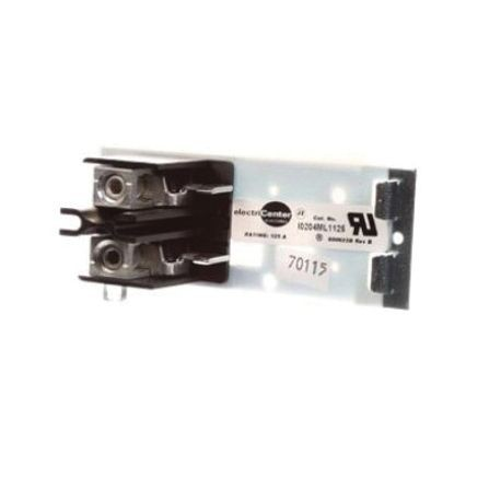 Siemens I0204ML1125 IO Series Type MP-T Mounting Base, For Use With: All QP Circuit Breaker Frames, Specifications: 2-Pole, 2-Circuit, 2-Space, 3-Wire, Aluminum