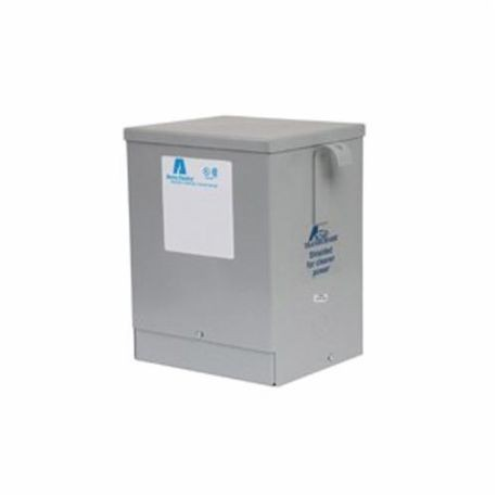 Acme Electric® T253013S Dry Distribution Transformer, 240/480 VAC Primary, 120/240 VAC Secondary, 3 kVA, 60 Hz, 1 Phase