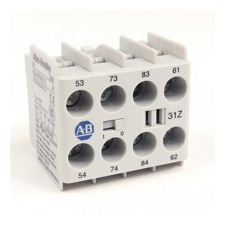 100-K/104-K/700-K Auxiliary Contact Blocks, Screw-In Terminals, Starting at 5-, 3 N.O. / 1 N.C., Shipped In Package Quantities of 1