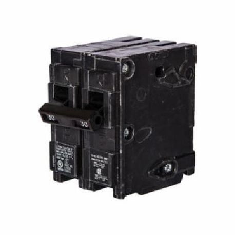 Siemens Q23500S01 Molded Case Circuit Breaker, 120/240 VAC, 35 A, 10 kA, 2 Poles, Thermal Magnetic/Shunt Trip