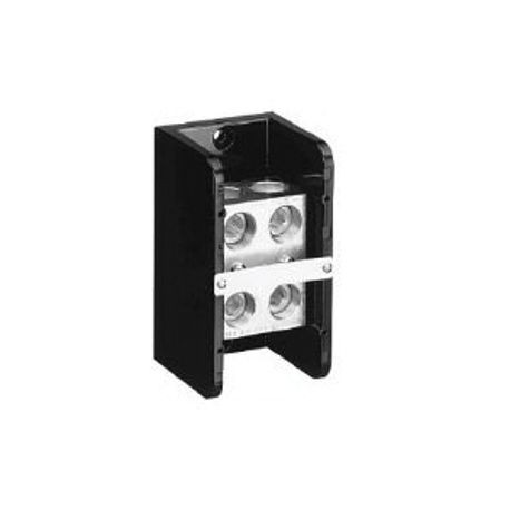 1492 Power Block, Standard Feed-Through/Splicer Block, 1-Pole, Aluminum, 2 Openings Line Side, 2 Openings Load Side, 760 Amps