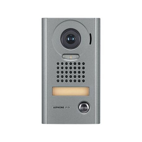 AIPHONE® JP-DV Weather-Resistant Video Door Station, 24 VDC, 25-Channel Talk Channel Output, 25-Channel Listen Channel Output, Surface Mount