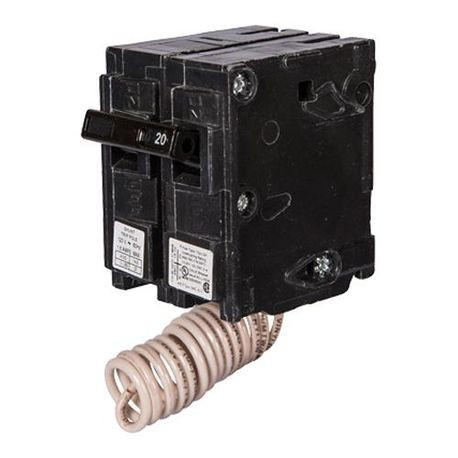 Siemens Q15000S01 Q Series Low Voltage Molded Case Circuit Breaker With Insta-Wire, 120 VAC, 50 A, 10 kA Interrupt, 1 Poles, Thermal Magnetic/Shunt Trip