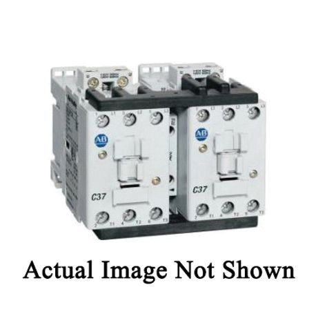 Allen-Bradley 104-C23A22 Reversing IEC Contactor, 240 VAC Coil, 23 A Maximum Load Current, 1NO-1NC Contact Configuration, 3 Pole
