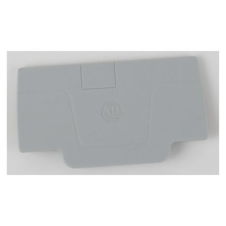 Allen-Bradley 1492-EBP3 End Barrier, For Use With: Push-In Terminal Block, Gray