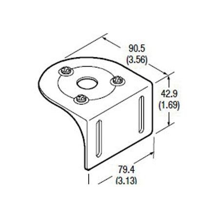 60-1479 Right Angle (90 Degree) Mounting Bracket