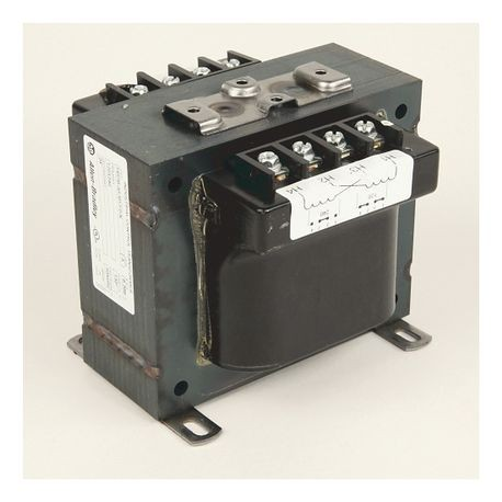 Rockwell Automation 1497B-A5-M13-0-N Control Circuit Transformer, 120/240 VAC Primary, 24 VAC Secondary, 200 VA Power, 60 Hz Primary Frequency