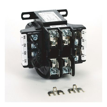 1497A - CCT, 100VA, 220x440V, 230x460V, 240x480V (50/60Hz) Primary, 2 Primary - 1 Secondary Fuse Blocks