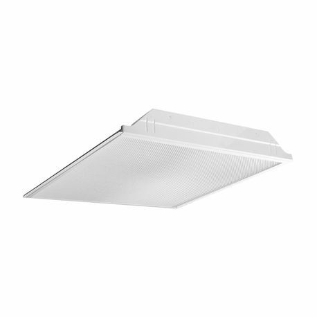Hubbell® JT822 Hemmed Edge Lenses Troffer Lighting Fixture, 2 T8 ...