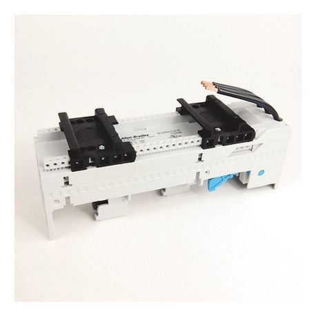 141A MCS Mounting System Adapter Modules, MCS Iso Busbar Module, 54mm x 200mm, 45 Amp, 2 MCS Specific Top Hat Rail
