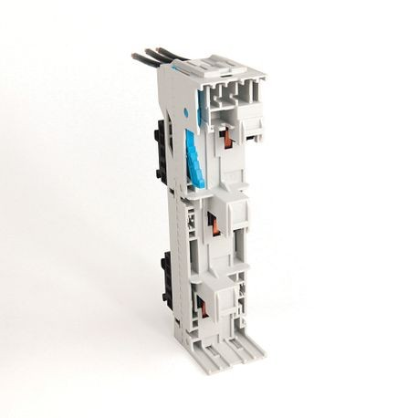 141A MCS Mounting System Adapter Modules, MCS Iso Busbar Module, 45mm x 200mm, 25 Amp, 2 MCS Specific Top Hat Rail, Priced per piece ;must buy in multiples of 10