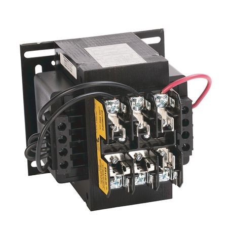 1497 - CCT Standard Transformer, 350VA, 600V 60Hz / 550V 50Hz Primary, 110V 50Hz / 120V 60Hz Secondary, 2 Pri - 1 Sec Fuse Blocks, No Cover/ No Sec. Fuse