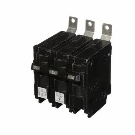 Siemens SpeedFax™ B350HH Molded Case Circuit Breaker, 240 VAC, 50 A, 65 kA Interrupt, 3 Poles, Thermal Magnetic Trip