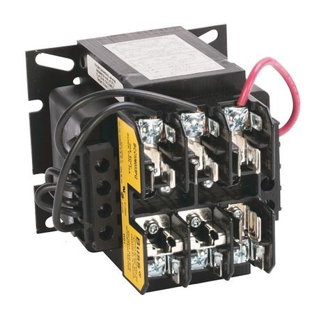 1497 - CCT Standard Transformer, 130VA, 240/480V 60Hz / 220/440V 50Hz Primary, 24V 50/60Hz Secondary, 0 Pri - 0 Sec Fuse Blocks, No Cover/ No Sec. Fuse