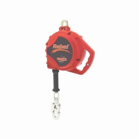 3M Protecta Fall Protection 3590500 Rebel™ Standard Traditional Self-Retracting Lifeline With Swivel Snap Hook, 420 lb Load, 33 ft L
