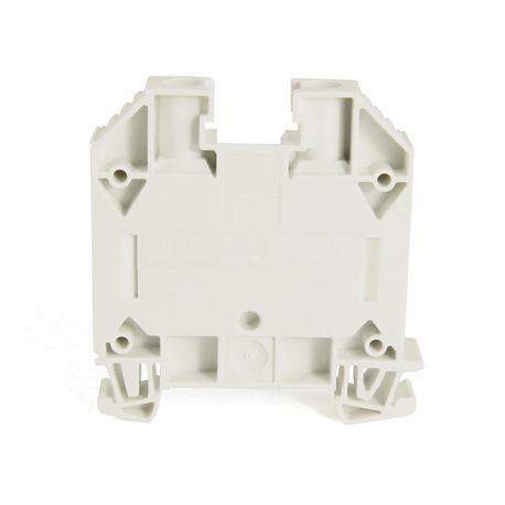 1492-J IEC Terminal Block, One-Circuit Feed-Through Block, 16 mm (# 14 AWG - # 4 AWG), Standard Feedthrough, White,
