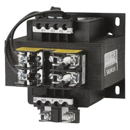 Siemens KT5300 Control Power Transformer, 277 VAC Primary, 24 VAC Secondary, 300 VA Power, 50/60 Hz Frequency, 1 Phase