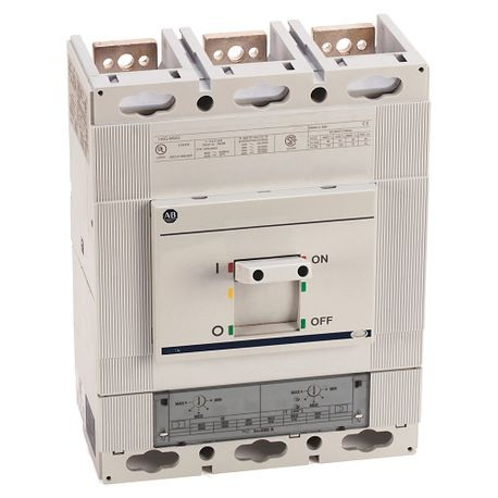 140G - Molded Case Circuit Breaker, M frame, 50 kA, T/M - Thermal Magnetic, Rated Current 600 A