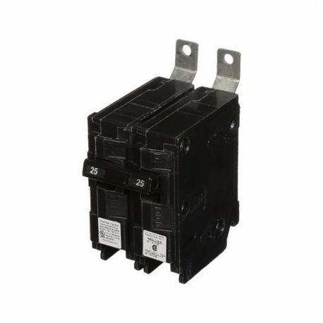 Siemens SpeedFax™ B225H Molded Case Circuit Breaker, 120/240 VAC, 25 A, 22 kA Interrupt, 2 Poles, Thermal Magnetic Trip