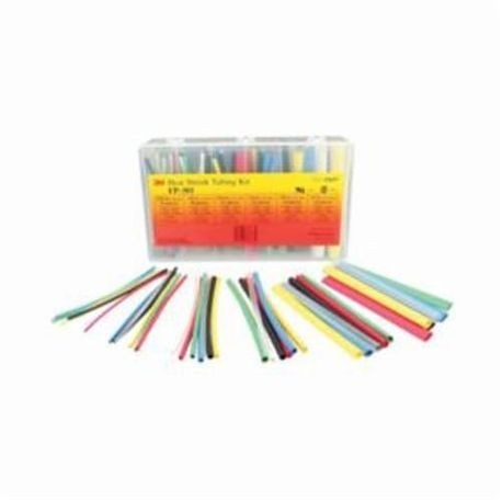 3M™ 051135-37677 FP301 Heat Shrink Tubing Kit, 133 Pieces, Polyolefin, Assorted