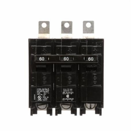 Siemens SpeedFax™ B360 Molded Case Circuit Breaker, 240 VAC, 60 A, 10 kA Interrupt, 3 Poles, Thermal Magnetic Trip