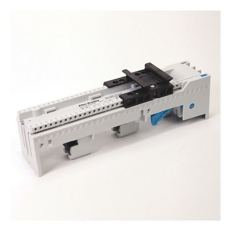 141A MCS Mounting System Adapter Modules, MCS Standard Busbar Module with Terminals, 108mm x 222mm, 200 Amp, Screw Mounting Variable Positions, Terminals on the Top
