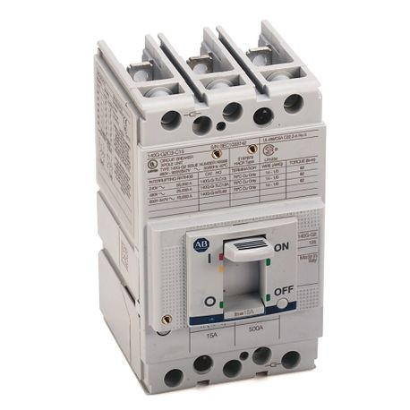 140G - Molded Case Circuit Breaker, G frame, 25 kA, T/M - Thermal Magnetic, Rated Current 15 A
