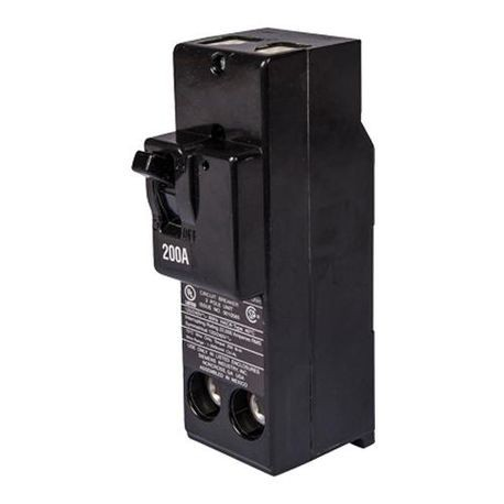 Siemens QN2175H Type QNH Low Voltage Non-Reversible Molded Case Circuit Breaker, 120/240 VAC, 175 A, 22 kA Interrupt, 2 Poles, Thermal Magnetic Trip