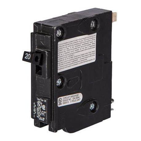 Siemens D160 Type QD Low Voltage Circuit Breaker, 120 VAC, 60 A, 10 kA, 1 Pole, Thermal Magnetic Trip