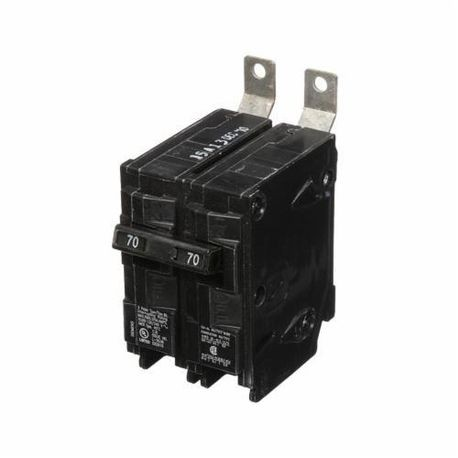Siemens SpeedFax™ B270 Molded Case Circuit Breaker, 120/240 VAC, 70 A, 10 kA Interrupt, 2 Poles, Thermal Magnetic Trip
