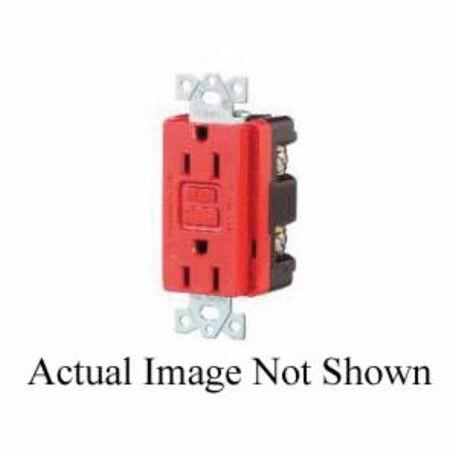 wiring device-kellems circuit guard� gfr5252wa duplex flush mount gfci  receptacle, 125 vac, 15 a, 2 poles, 3 wires, white | smc electric