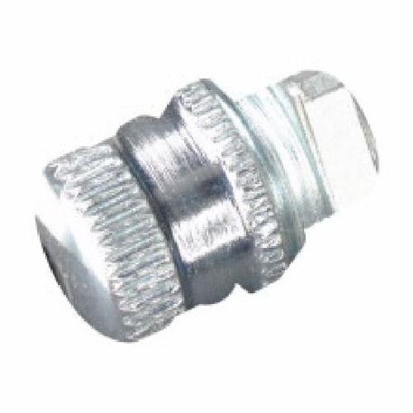 Crouse-Hinds CGB193 Form B Straight Cable Gland Connector With Control Power Transformer, 1/2 in Trade, 1/4 to 3/8 in Cable Openings, Steel, Electroplated Zinc/Polished Chrome