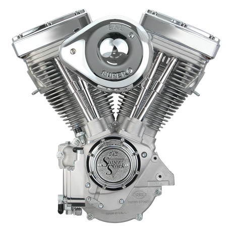 V80 Complete Assembled Engine - Natural   S&S Cycle
