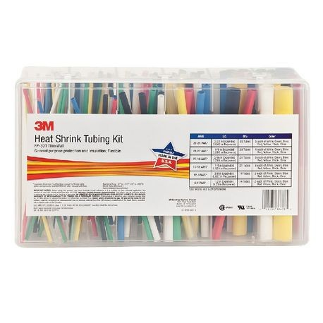 3M™ FP301 Heat Shrink Tubing Kit, 133, Polyolefin, Assorted