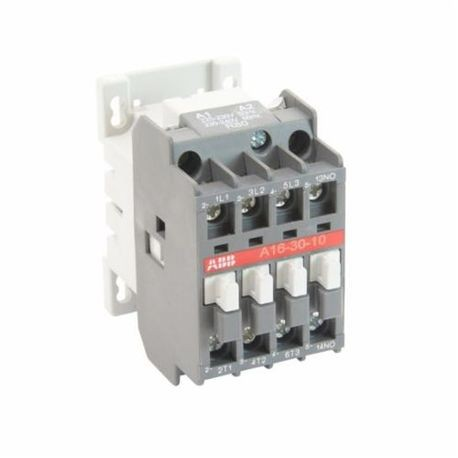 ABB A16-30-10-80 Magnetic Contactor, 230 to 240 VAC Coil, 30 A, 3NO Contact, 3 Poles
