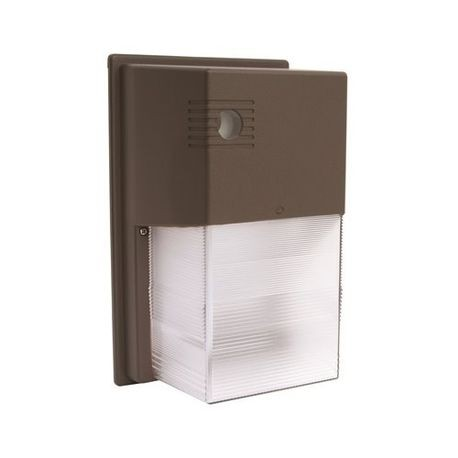 Hubbell Nrg 356l 4k U Pc Outdoor Wallpack With Photocontrol Led Lamp 17 W Fixture 120 To 277 Vac Bronze Housing