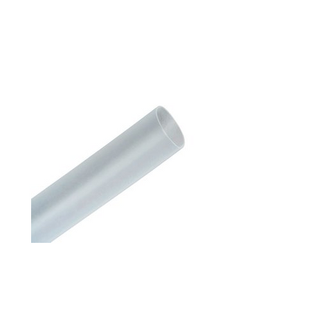 3M™ 051135-35579 Flexible Heat Shrink Tubing, 1/4 in ID Expanded, 1/8 in ID Recovered, 0.025 in Wall THK Recovered