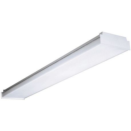 Columbia Lighting AWN Low Profile Replacement Lens, 4 ft L x 8-5/16 in W,  Clear Acrylic
